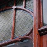 Drie Mollen - Detail van de deur.
